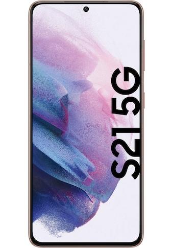 """Samsung Smartphone »Galaxy S21 5G«, (15,84 cm/6,2 """" 128 GB Speicherplatz, 64 MP Kamera), 3 Jahre Garantie kaufen"""
