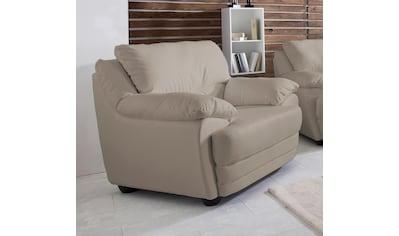 Home affaire Sessel »Nebolo«, in 2 pflegeleichtten Bezugsqualitäten kaufen