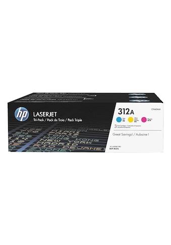 HP Druckkassetten - Set HP 312A »HP CF440AM« kaufen
