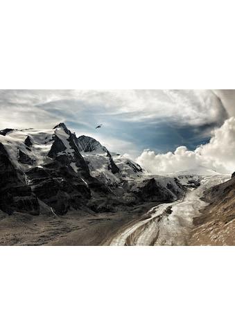 queence Leinwandbild »Berge« kaufen