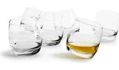 sagaform Whiskyglas »Bar Rocking«, (Set, 6 tlg.), je 200 ml kaufen