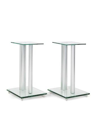 Auna Paar Boxenständer Glas Aluminium <10kg belastbar »BS28« kaufen