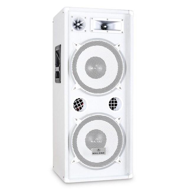 Malone DJ PA Box Lautsprecher Fullrange Bassreflex 2x30cm 1000W »PW 2222«