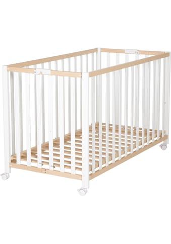 roba® Babybett »Fold Up, bicolor«, klappbar kaufen