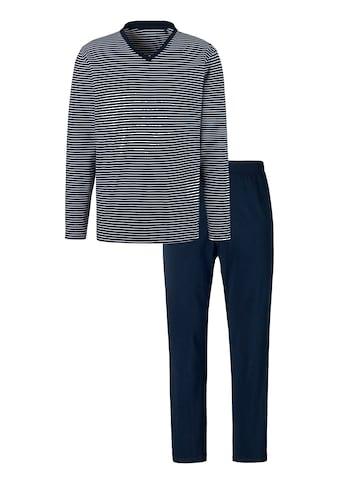 Schiesser Pyjama, im Streifen Dessin kaufen