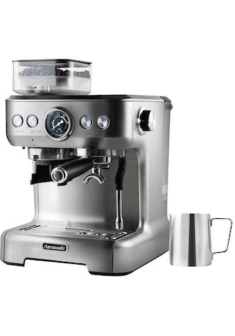 Hanseatic Siebträgermaschine »Espressomaschine 71578759«, inkl. Edelstahl-Milchkännchen kaufen