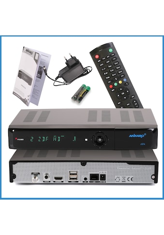 Ankaro »ANK AVA UHD 4K« SAT - Receiver kaufen