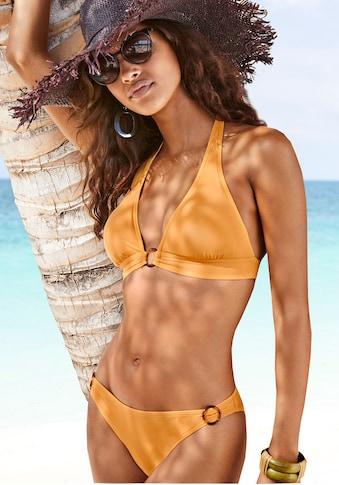 s.Oliver Bikini-Hose »Rome«, mit Zierringen kaufen