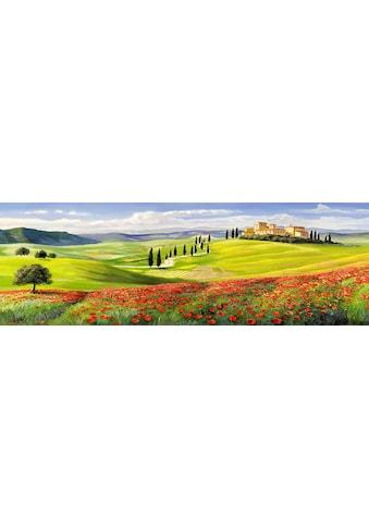 Home affaire Kunstdruck »A.GALASSO / Verso il borgo in Toscana - Tript.«, (1 St.) kaufen