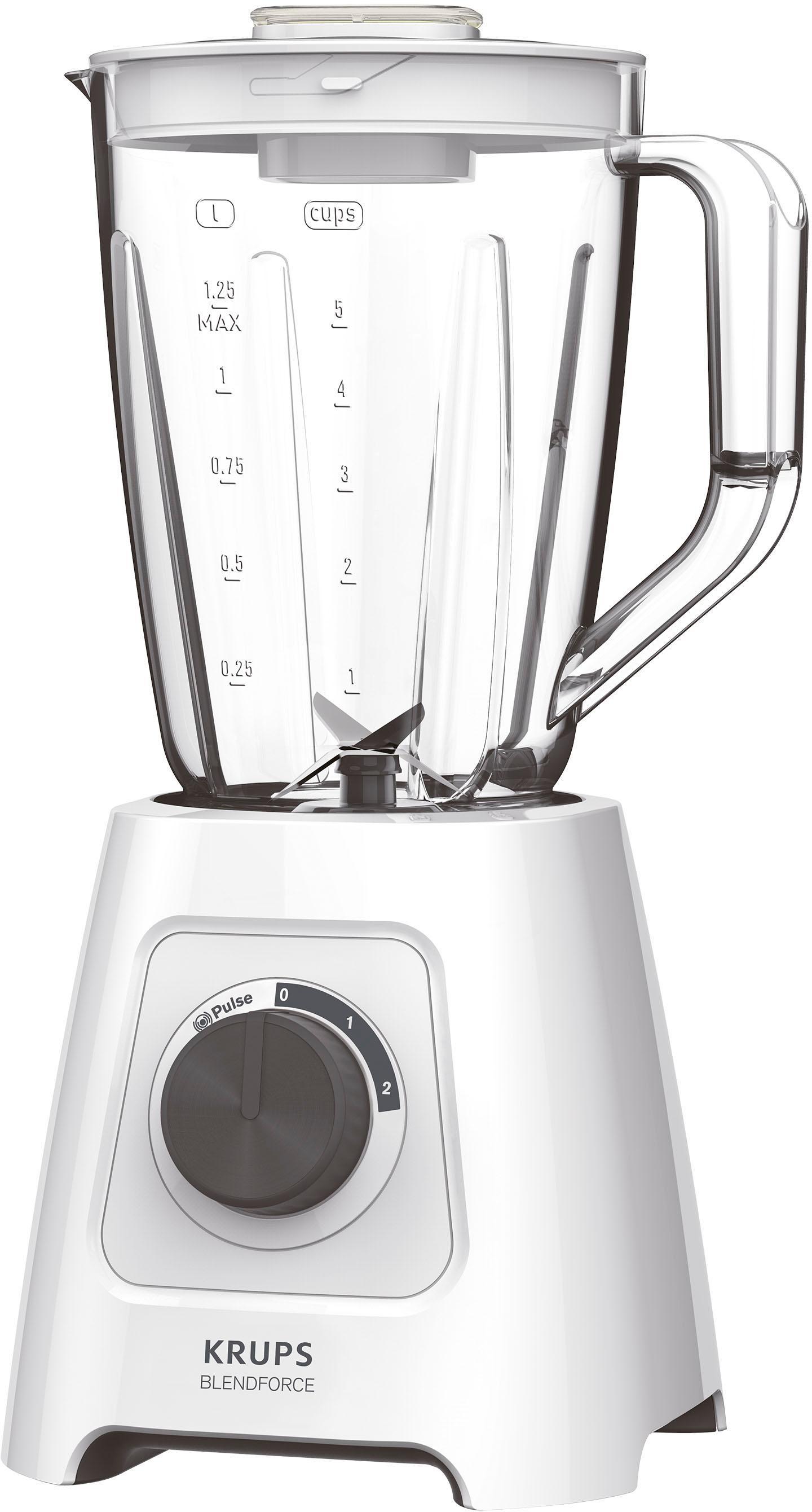 Krups Standmixer KB4201 Blendforce, 600 Watt   Küche und Esszimmer > Küchengeräte > Rührgeräte und Mixer   Krups
