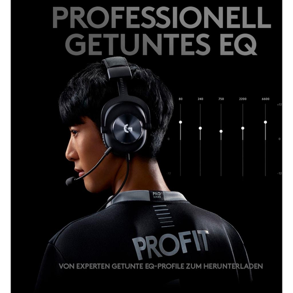 Logitech G Gaming-Headset »PRO Gaming Headset«