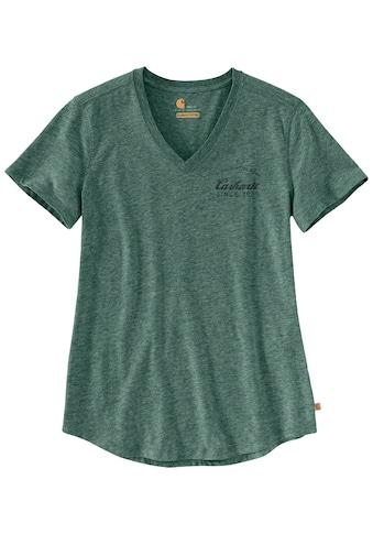 CARHARTT T - Shirt »LOCKHART GRAPHIC V - NECK T - SHIRT«, Größe: XS - XL kaufen