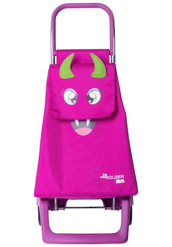 Rolser Einkaufstrolley »Joy-1700 Monster Kid MF«, (1 tlg.), Maße: 35x30x82,5 cm kaufen