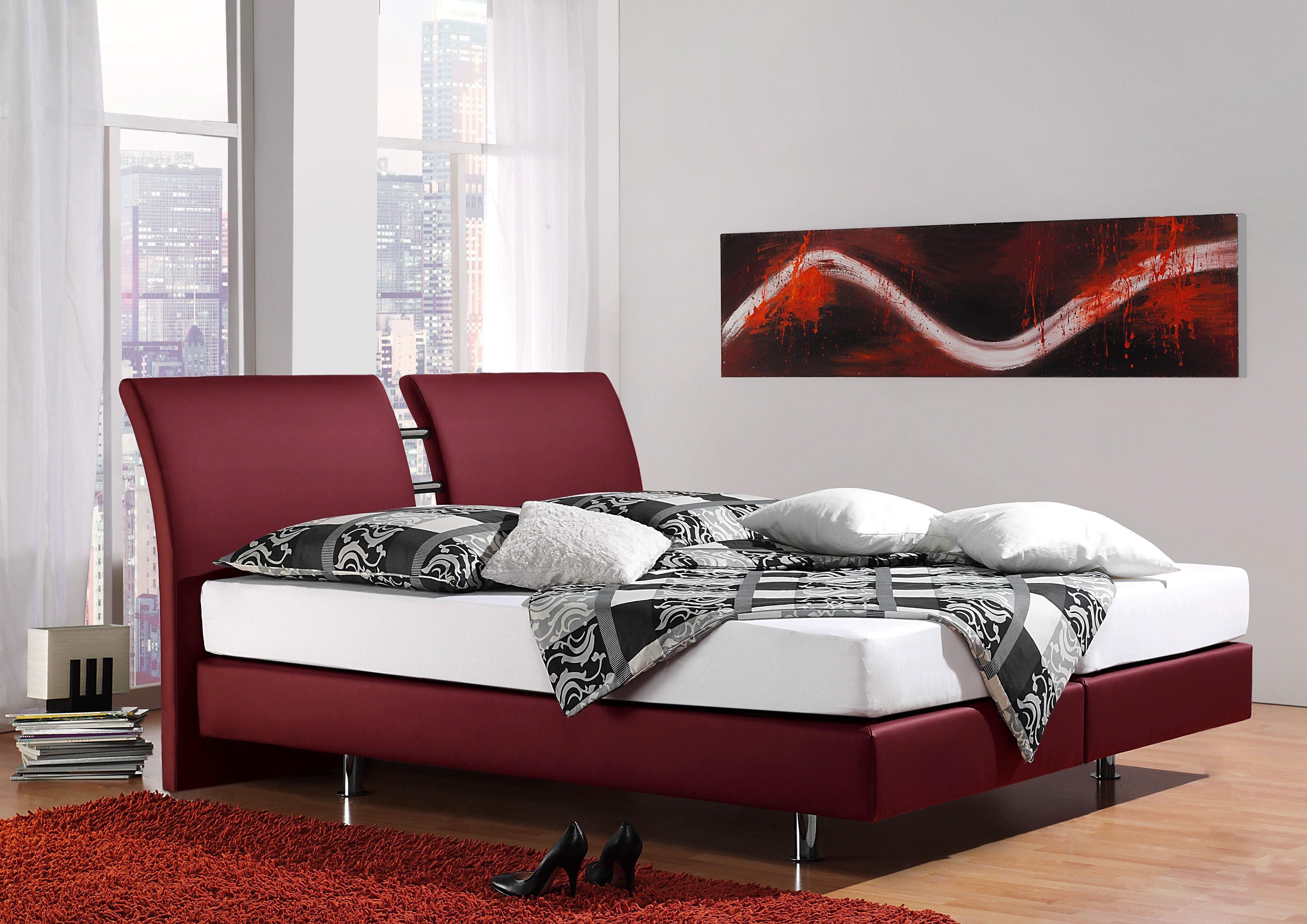 inosign boxspringbett polo auf rechnung bestellen. Black Bedroom Furniture Sets. Home Design Ideas