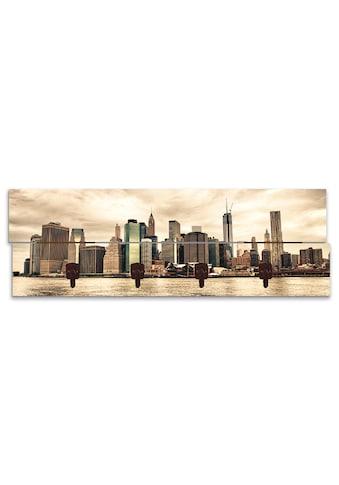Artland Garderobenpaneel »Lower Manhattan Skyline« kaufen