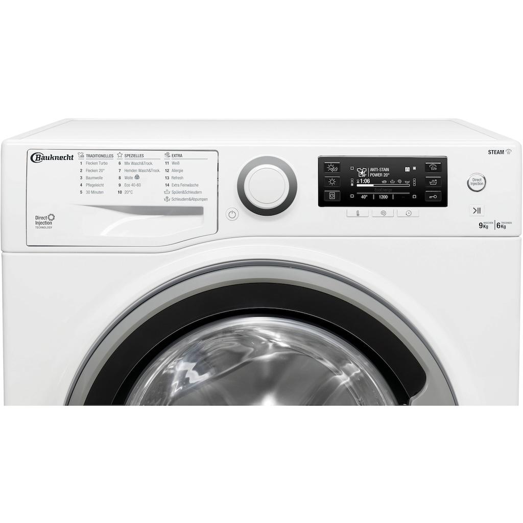 BAUKNECHT Waschtrockner »WATK SENSE 96L6 DE N«