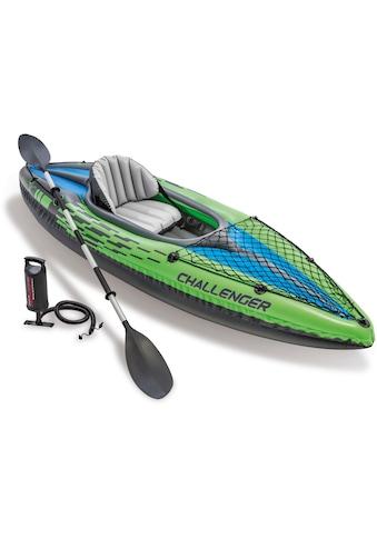 Intex Einerkajak »Challenger K1 Kayak Set«, (Set, 3) kaufen
