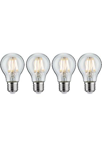 Paulmann LED-Filament »4er Pack 7W E27 klar 2700K«, E27, 4 St., Warmweiß kaufen
