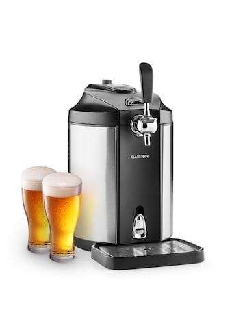 Klarstein Bierzapfanlage Bierkühler 5l Partyfässer CO2 Drucksystem »Skal« kaufen