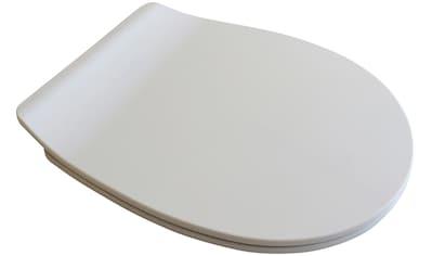 ADOB WC - Sitz »Arezzo mit Absenkautomatik«, Slimline, auf Knopfdruck von der Keramik abnehmbar kaufen