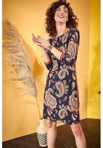 Aniston SELECTED Jerseykleid, mit glitzernden Tapes - NEUE KOLLEKTION kaufen