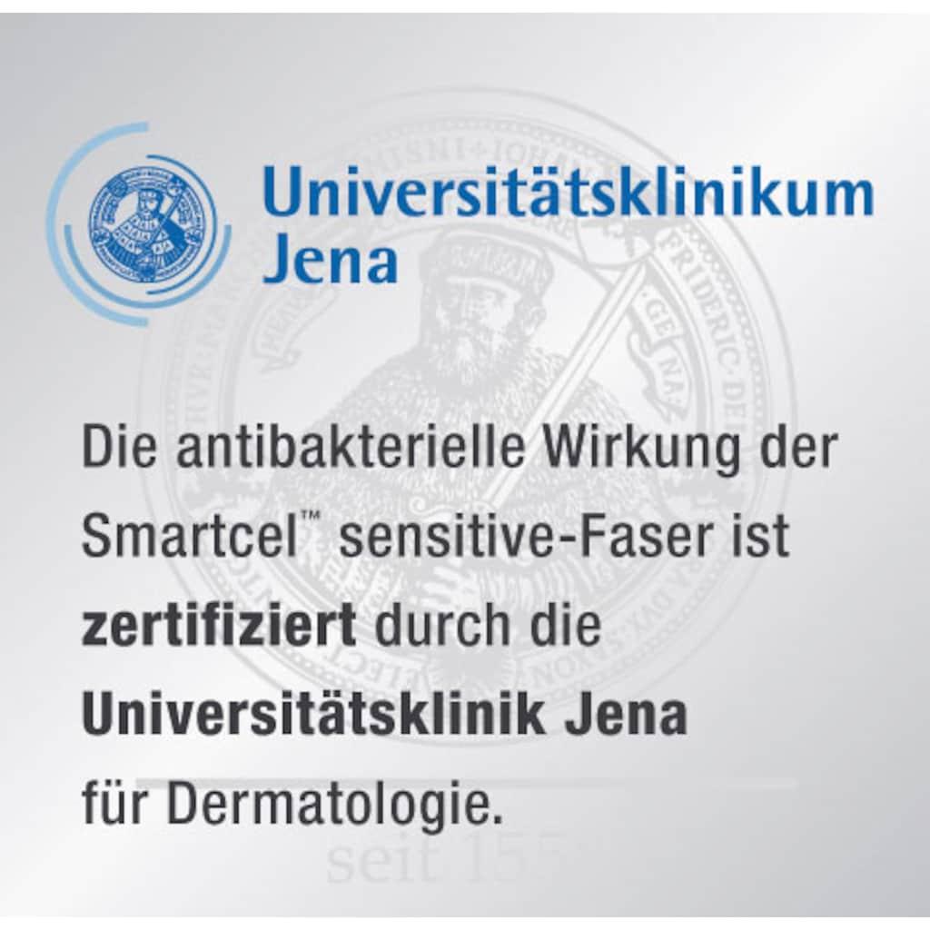 f.a.n. Schlafkomfort Microfaserbettdecke »Wellness für die Haut«, 4-Jahreszeiten, Bezug 100% Polyester, (1 St.), Gewinner des Deutschen Innovationspreises - mit antibakterieller Wirkung durch Smartcel™sensitive