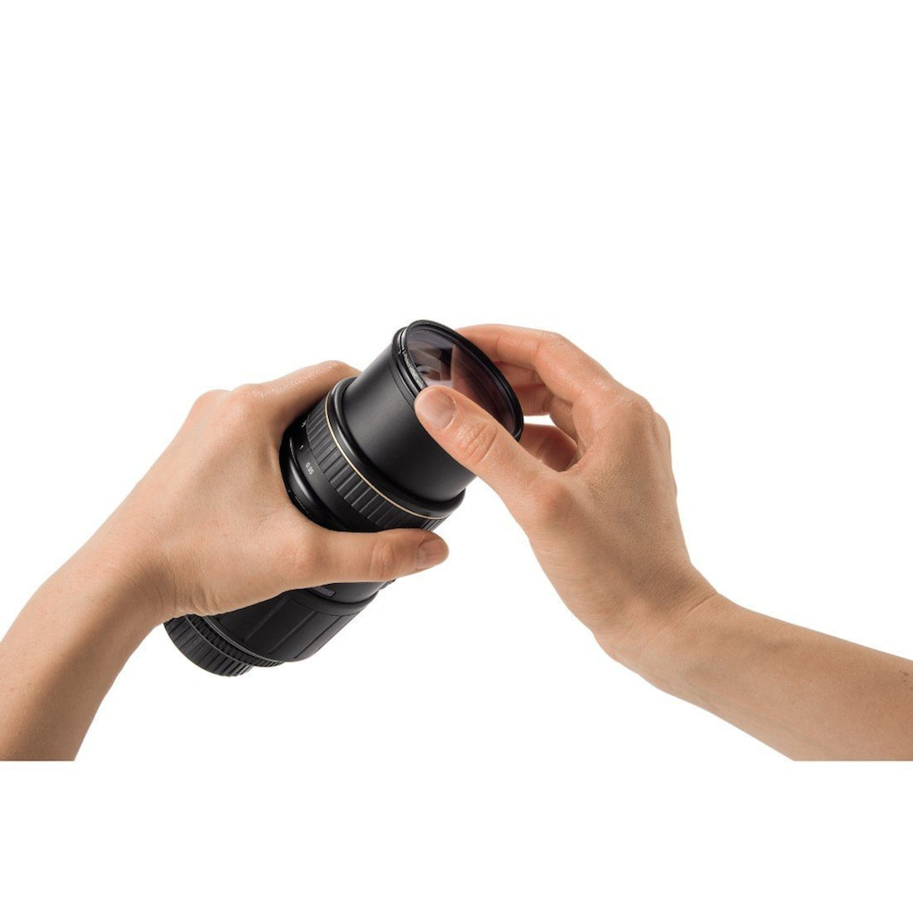 Hama Schutzfilter UV, HD, 82 mm, ultraflache Metallfassung 3mm »Filter mit Frontgewinde«