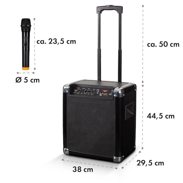 """Auna LED PA-Anlage 8"""" Woofer 100 W max VHF-Mikro USB »FS-801L«"""