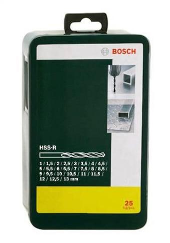 BOSCH Metallbohrer »HSS-R (25-tlg.)«, (Set, 25 tlg.) kaufen