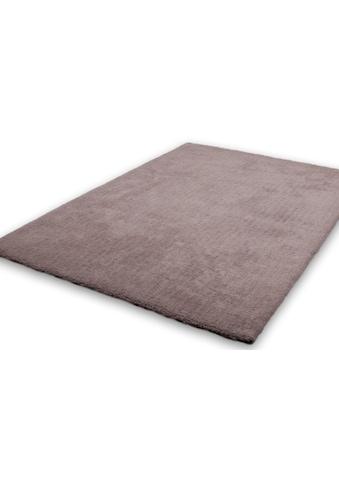 Hochflor - Teppich, »Velvet«, LALEE, rechteckig, Höhe 25 mm, handgetuftet kaufen