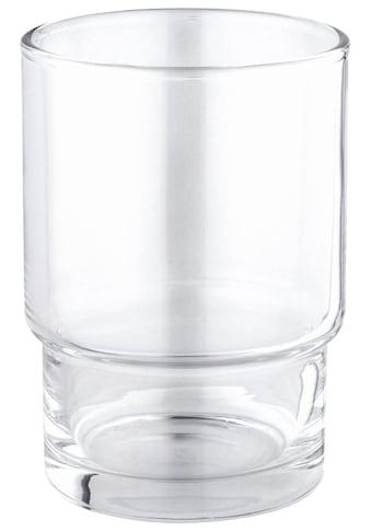 Grohe Zahnputzbecher »Essentials Kristallglas«, für Halter, aus Glas kaufen