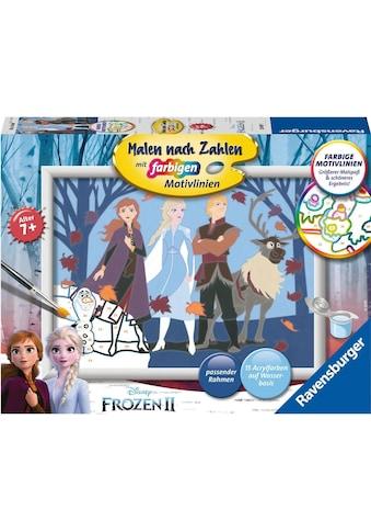 Ravensburger Malen nach Zahlen »Disney Frozen II, Abenteuerreise«, Made in Europe,... kaufen