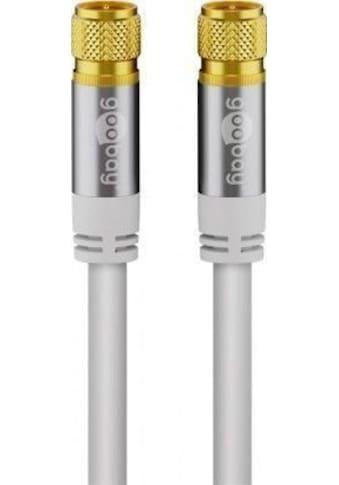 Goobay SAT Antennenkabel »(135 dB typ), 4x geschirmt« kaufen