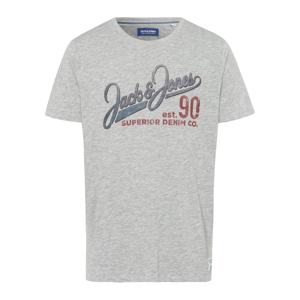 Jack & Jones T-Shirt »JJ30 JONES SLUB TEE SS CREW NECK«