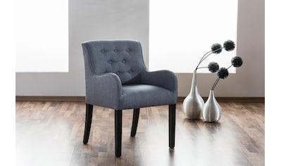 Max Winzer® Esszimmersessel »Debby«, mit dekorativen Knöpfen kaufen