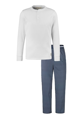 Jack & Jones Pyjama, Rippen-Shirt & Webhose kaufen