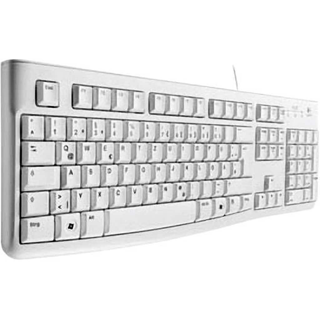 Logitech Tastatur »Flaches Profil«, K120 Corded Keyboard