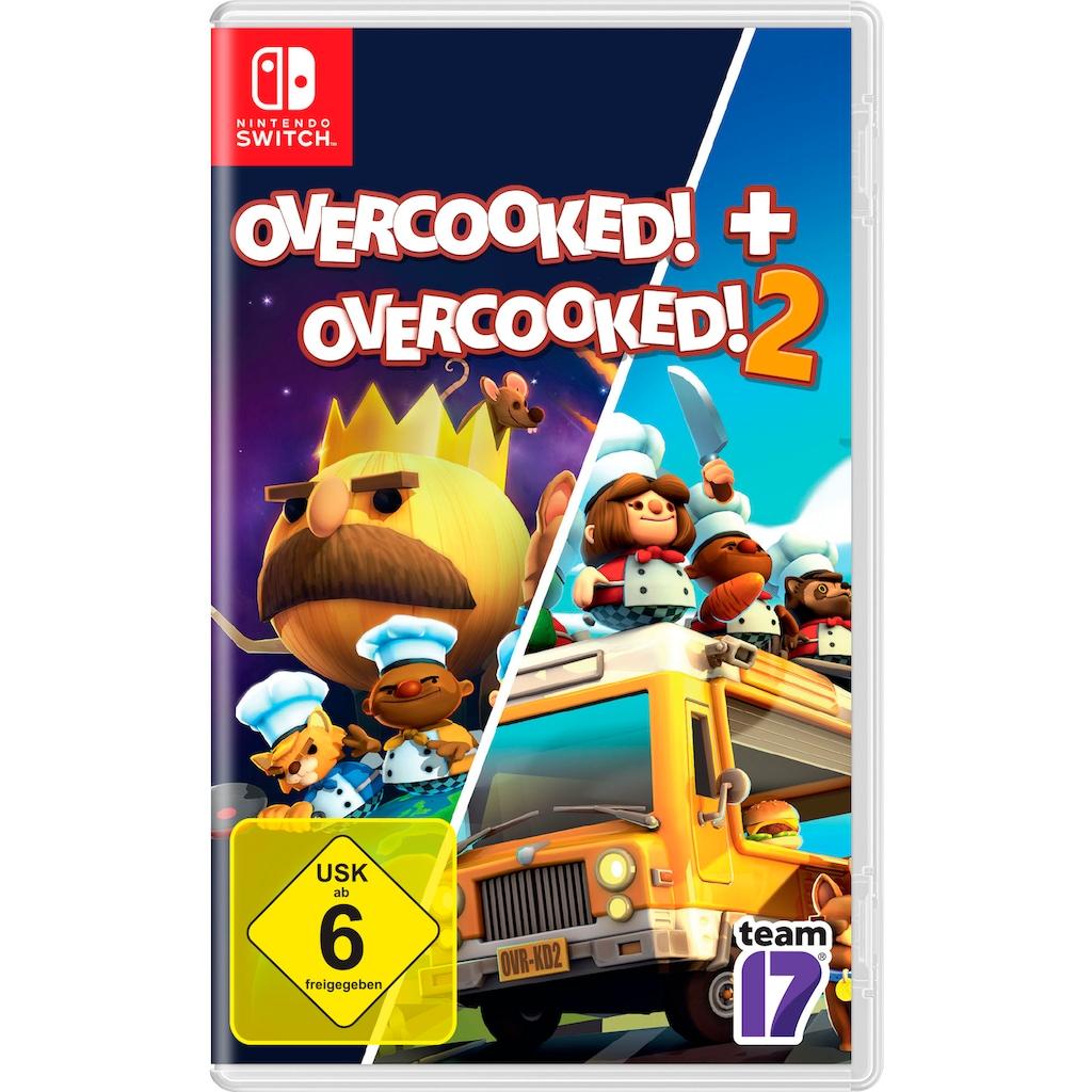 Spiel »Overcooked! + Overcooked! 2«, Nintendo Switch