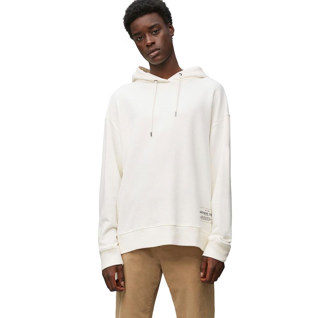 Marc O'Polo Sweatshirt, plakativer Markenprint im Rückenteil