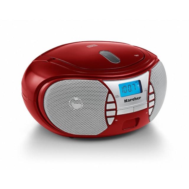 Karcher CD-Radiorecorder »RR 5025-R«, (CD 2.2 W)