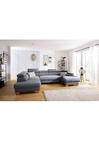 Home affaire Wohnlandschaft »Steve Premium Luxus«, bis 140kg pro Sitz belastbar, incl.... kaufen