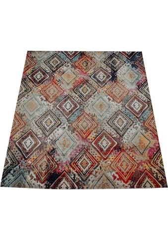 Paco Home Teppich »Artigo 433«, rechteckig, 4 mm Höhe, In- und Outdoor geeignet,... kaufen