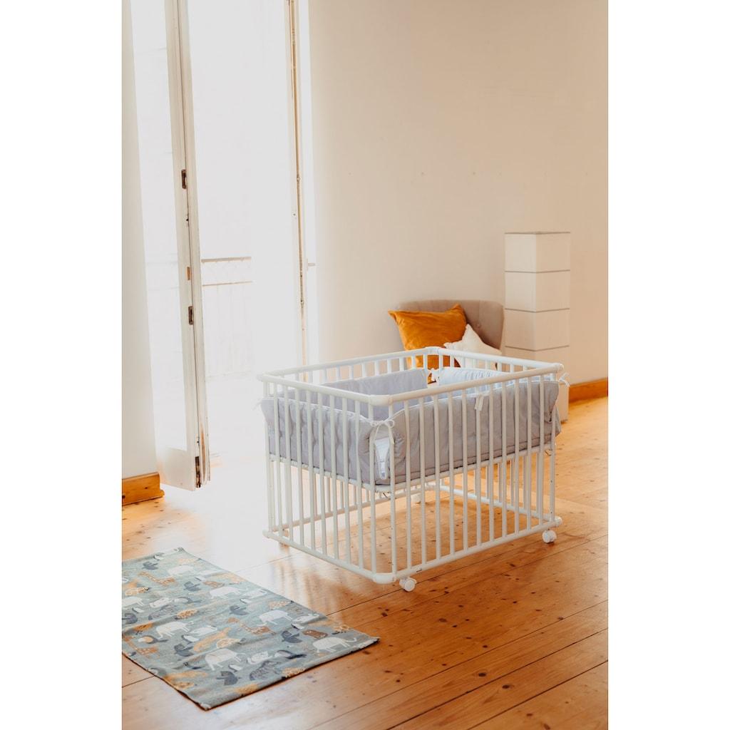 Geuther Laufgitter »Belami Plus, weiß, 76x97 cm«, bis 15 kg, mit Folienboden 032