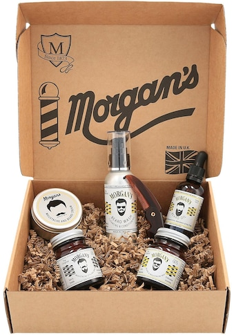Morgan's Bartpflege-Set »Moustache and Beard Grooming Gift Set«, (6 tlg.) kaufen
