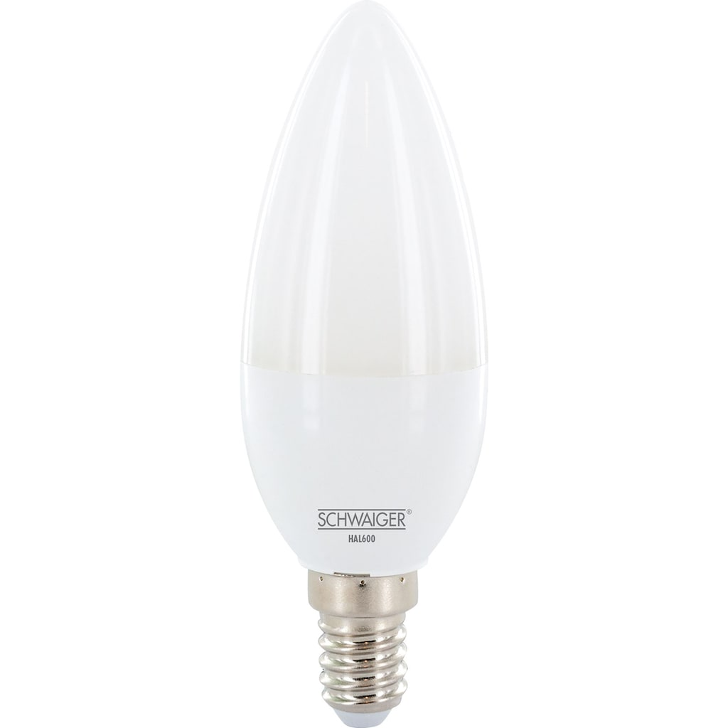 Schwaiger LED Lampe E14 dimmbar -smarte LED- Glühbirne warmweiß »Lichtsystem / Leuchtmittel«