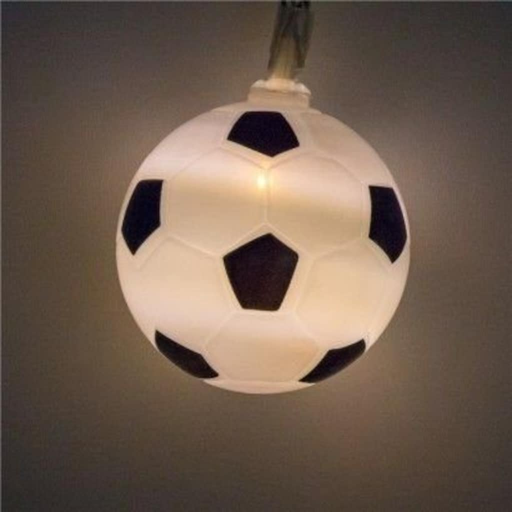 Goobay LED Lichterkette Fußball, inkl. Netzstecker