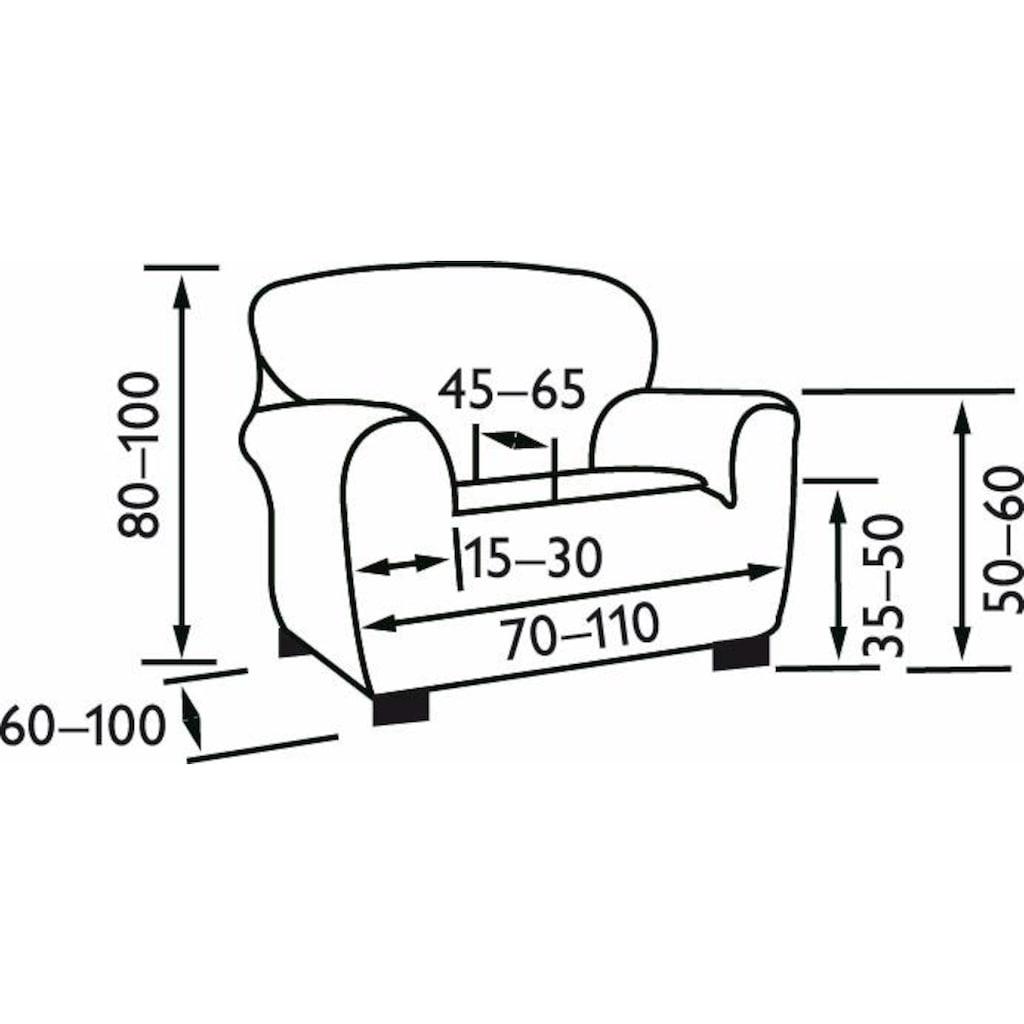 sofaskins Sesselhusse »Dario«, mit leichtem Struktur-Effekt