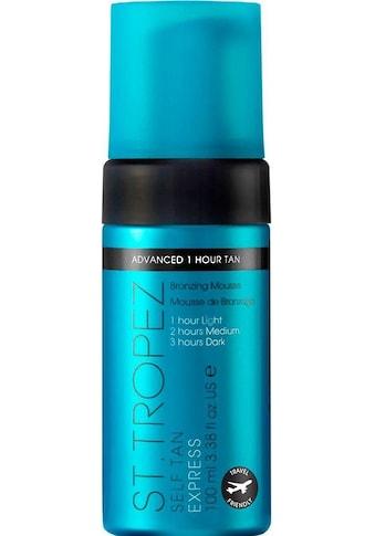 St.Tropez Selbstbräunungsmousse »Self Tan Express Advanced Bronzing Mousse« kaufen