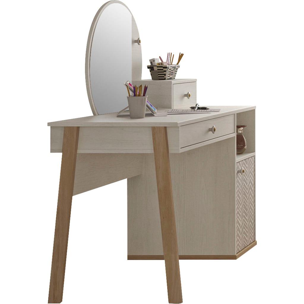 Gami Jugendzimmer-Set »Alika«, (Set, 2 St.), Schreibtisch-Set