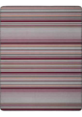 BIEDERLACK Wohndecke »Stripe«, mit Streifen-Design kaufen
